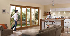 Nu-Vu folding doorsets Lifestyle